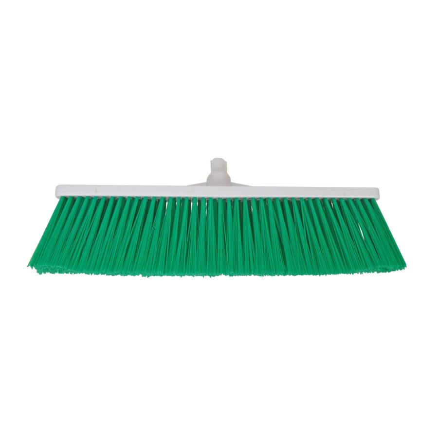 green yard broom