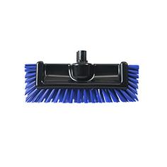 blue scrator brush