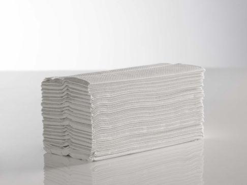 Hand Towel White C Fold