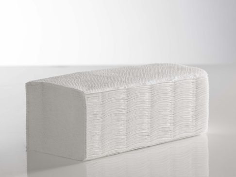 Paper Hand Towel White I Fold