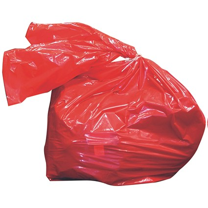 Soluble Red Laundry Sack
